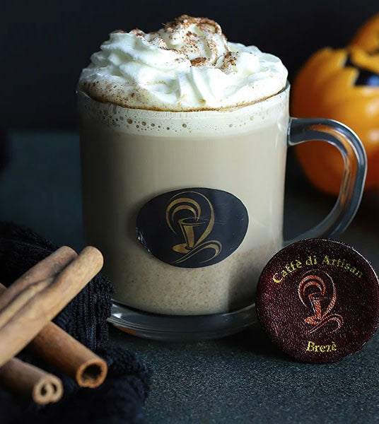 Make a Pumpkin Cinnamon Spice Latté with Machine-free Coffee