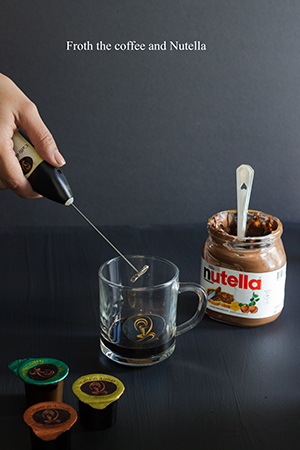 Nutella Hot Coffee step 3
