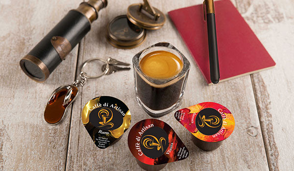 Caffè di Artisan | Single serve Coffee Pods Without Coffee machines