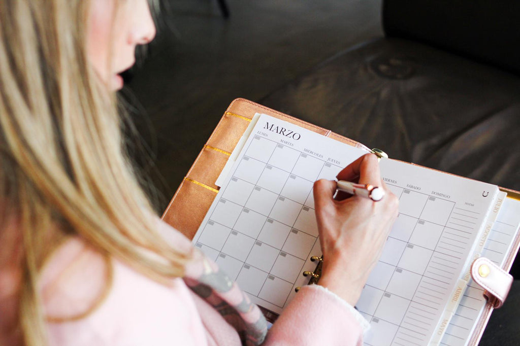 How to choose a planner or agenda (with or without rings), with dates or without dates