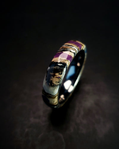 Mammoth Tooth Purple Glow Ring