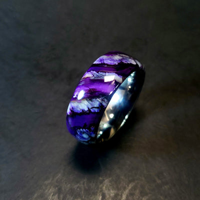 Purple Mammoth Tooth Ring