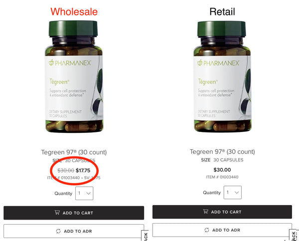 Tegreen Wholesale Pricing