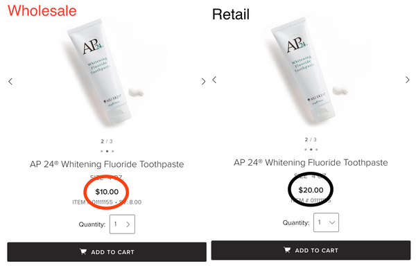 AP24 Toothpaste Wholesale Price - Beauty Hardy