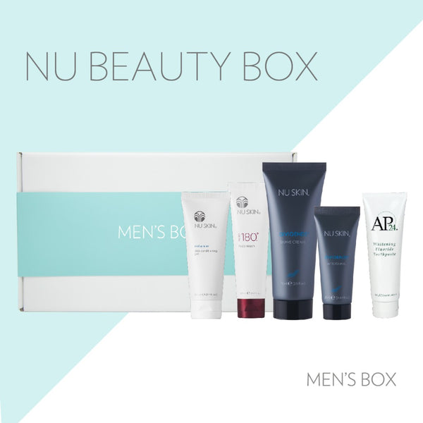 Nu Skin Men's Box - Beauty Hardy