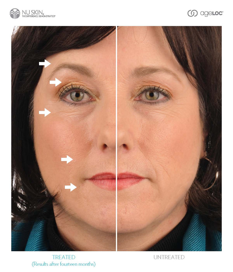 Nu Skin ageLOC Galvanic Spa results - Beauty Hardy