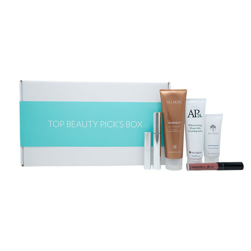 Nu Skin Top Picks Beauty Box - Beauty Hardy