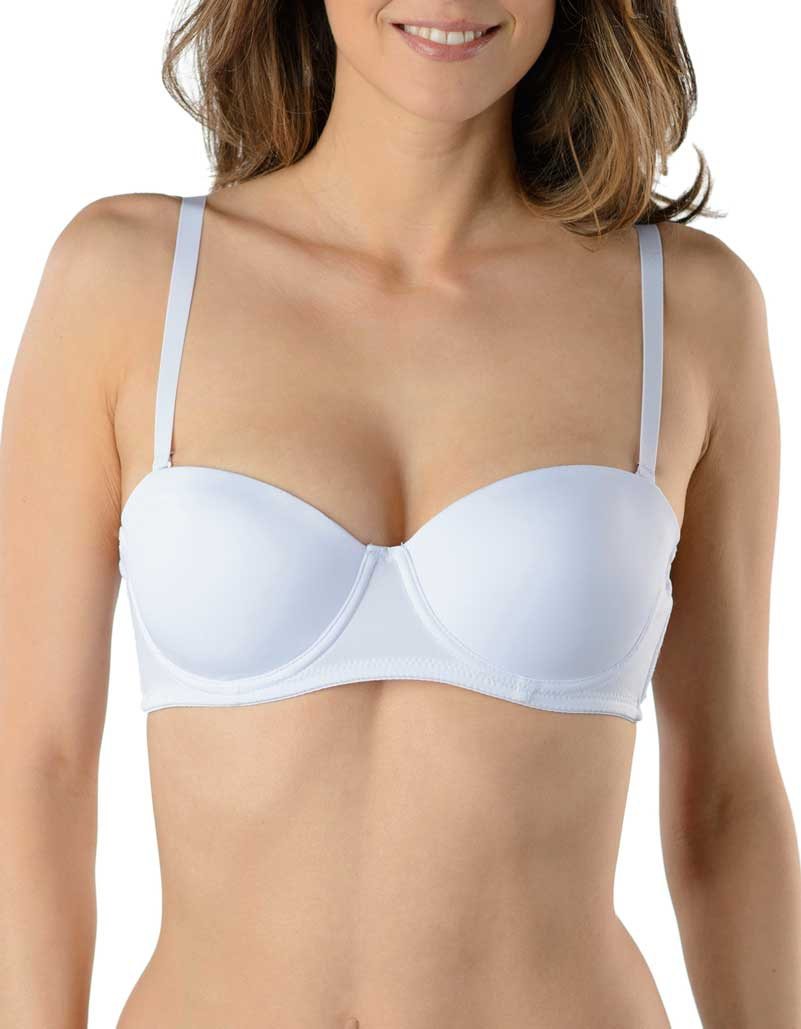 White 2-Pack Strapless Multiway Padded Bra 87962-2P