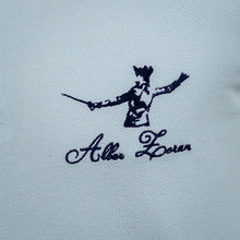 Load image into Gallery viewer, ICONIC FENCING POLO Baby Blue 1 Fencer