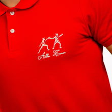 Load image into Gallery viewer, ICONIC FENCING POLO Red 2 Fencers