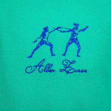 Load image into Gallery viewer, ICONIC FENCING POLO Caribbean Green 2 Fencers