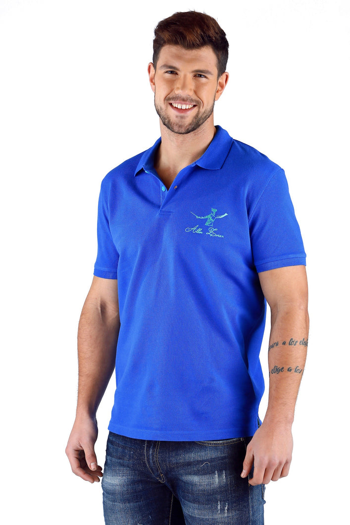 ICONIC FENCING POLO Electro Blue 1 Fencer