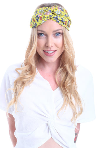 HAIR BANDANA HIPPY FLOWERS