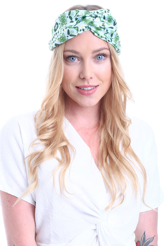 HAIR BANDANA TROPICAL AQUAMARINE