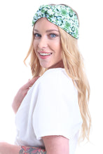 Load image into Gallery viewer, HAIR BANDANA TROPICAL AQUAMARINE