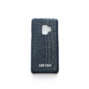 GENUINE LEATHER CELL COVER CV9_S9 WILD SKIN GREY