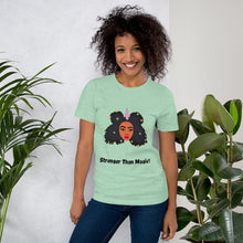 Load image into Gallery viewer, Black Girl Magic Short-Sleeve Unisex T-Shirt Transparent