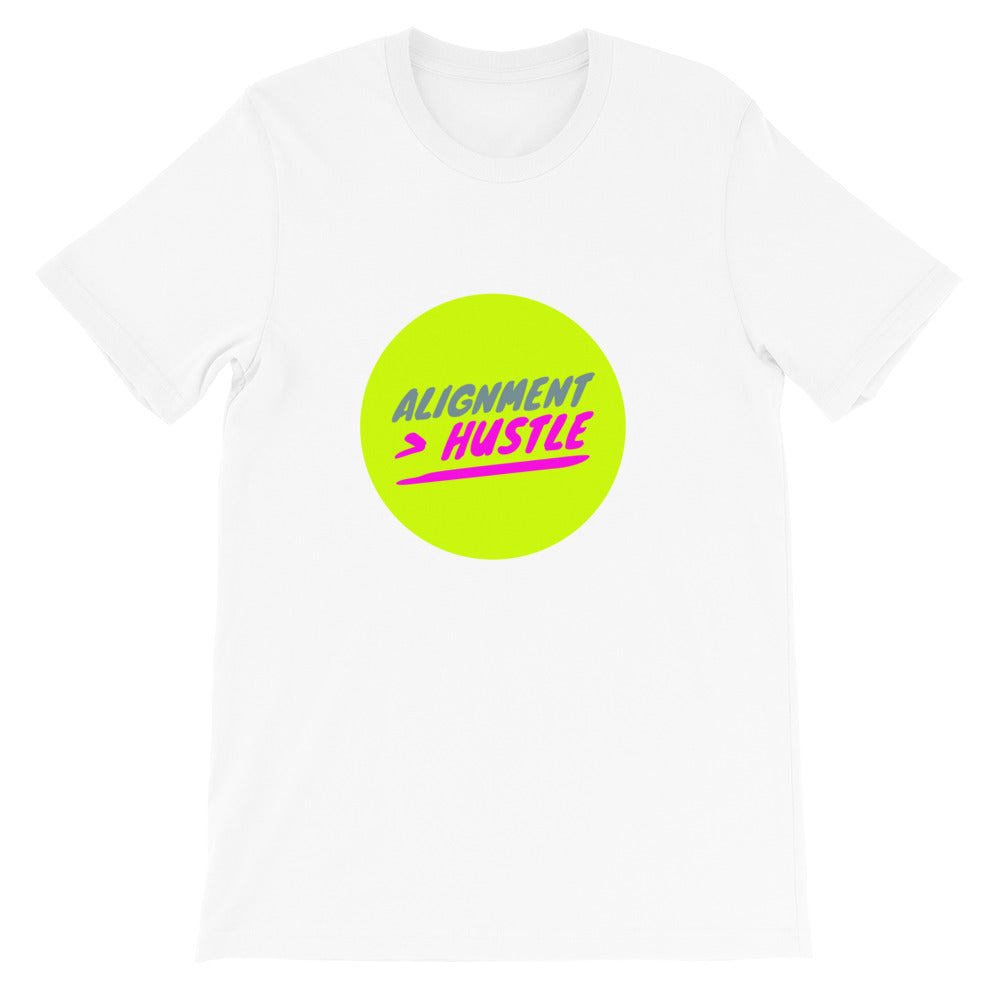 Alignment Neon Circle Short-Sleeve Unisex T-Shirt