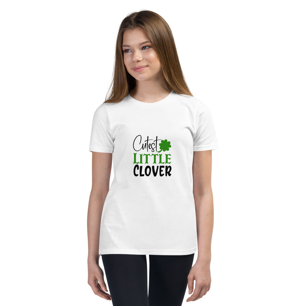 Cutest Little Clover Youth Short Sleeve T-Shirt