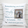 Remembrance Cushion - Remembering You