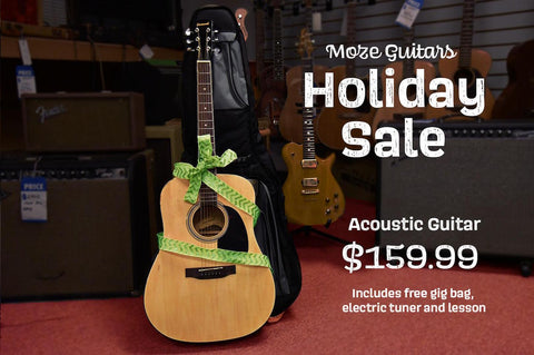 Holiday Guitar Acoustic Package