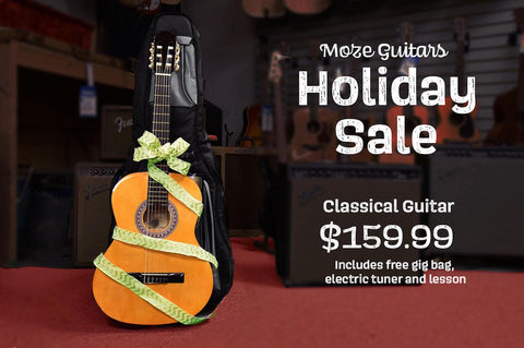 Holiday Classical Guitar Package