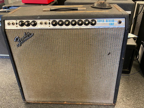 1969 Fender Super Reverb with Footswitch