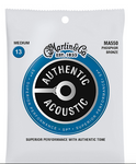 Martin MA550 SP Phosphor Bronze MED 13-56 Authentic Acoustic Guitar Strings