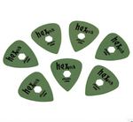 Clayton Hex Picks (pack of 12)
