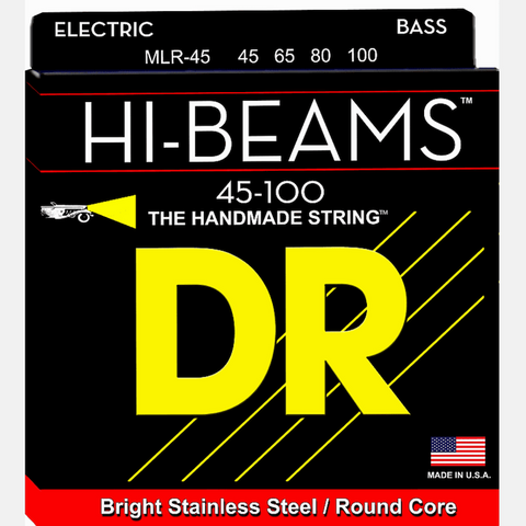 DR MLR-45 Hi Beam Bass Strings-Medium Lite 45-100