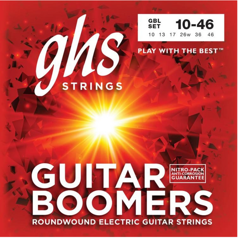 GHS Guitar Boomers GBL 10-46