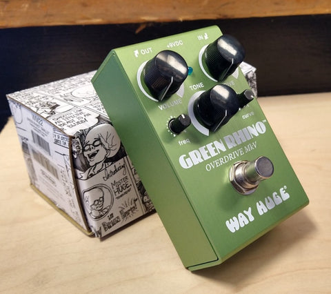 Way Huge Smalls Green Rhino Overdrive MkV