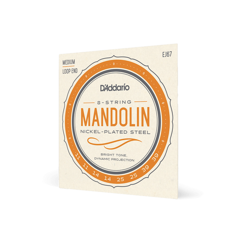 Daddario Mandolin 11-39 Medium Set (Nickel) EJ67