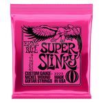 SUPER SLINKY 2223 NICKEL WOUND ELECTRIC GUITAR STRINGS - 9-42 GAUGE