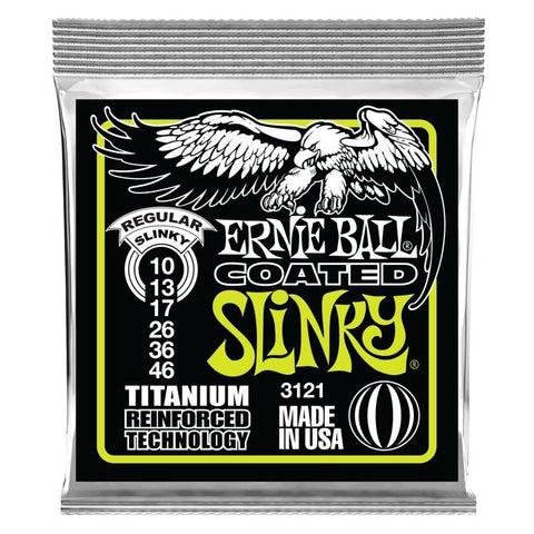 Ernie Ball 3121 Regular Slinky RPS Electric Guitar .010-.046