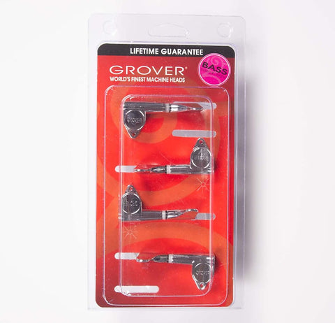 Grover Mini Bass 2x2 Chrome 144C