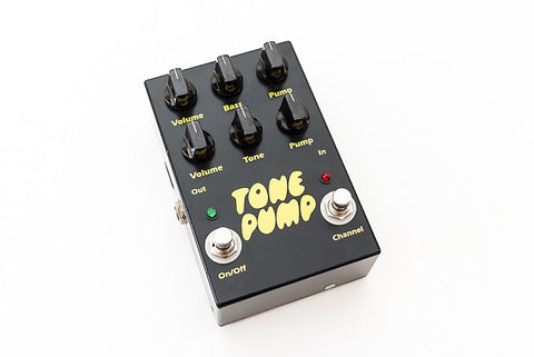 Barber Electronics Tone Pump Original V1 Overdrive Rare Guitar Effect Pedal