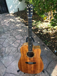 James Goodall Custom Koa