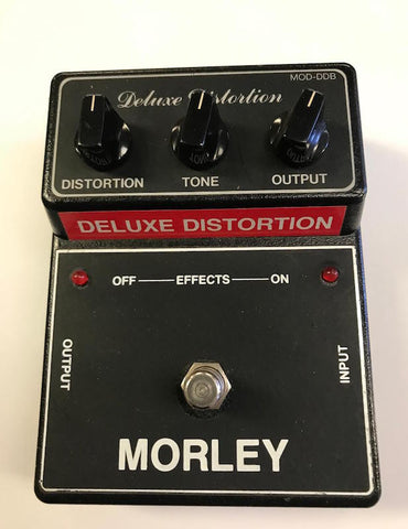 1980s Morley Deluxe Distortion MOD-DDB