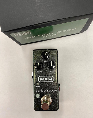 MXR® CARBON COPY® MINI ANALOG DELAY