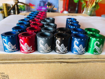 Scorpio 25mm RDA Limited Edition Caps