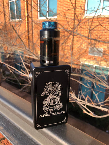 Vaping Delights Series 21700 Box Mod