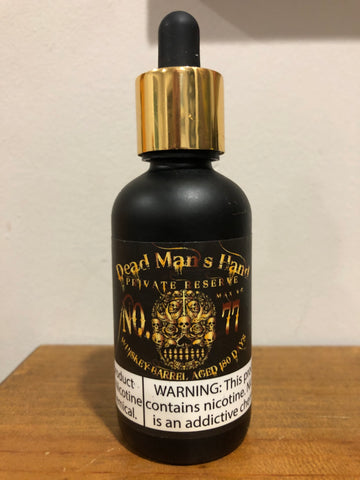 DEAD MANS HAND X- NO 77  Private Reserve (60ML)