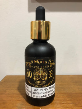 DEAD MANS HAND X - NO 33 PRIVATE RESERVE (60ML)