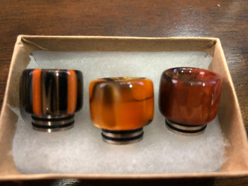 Custom 810 Drip Tips with SS Core