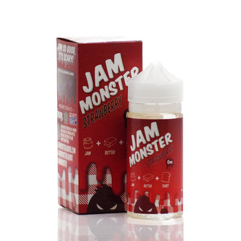 Jam Monster STRAWBERRY eLiquid (100ML) Best E-Liquid