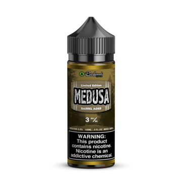 Barrel Aged Medusa - Backwoods Vapor (120ml / 3 Nic)