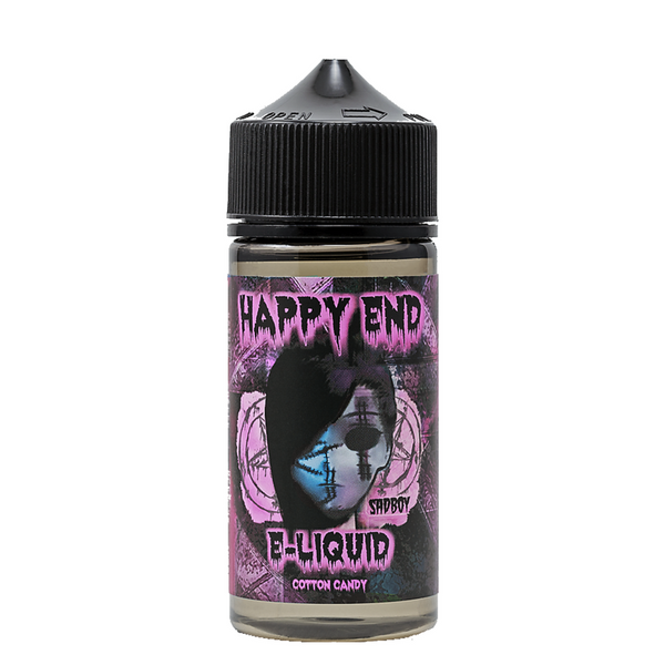 Happy End - Pink Cotton Candy by Sadboy E-Liquid