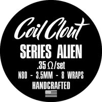 Coil Clout - Series Alien (.35 ohm)