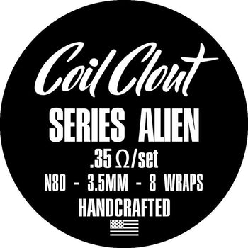 Coil Clout Series Alien (.35 ohm)